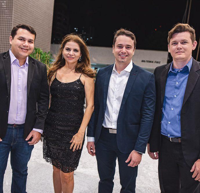 Flanklin Emerson, Daniele Sobral, Uldison Webister E Joatan Coutinho