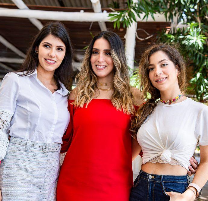 Flavia Laprovitera, Nathalia Ximenes E Maria Eugenia Ventura