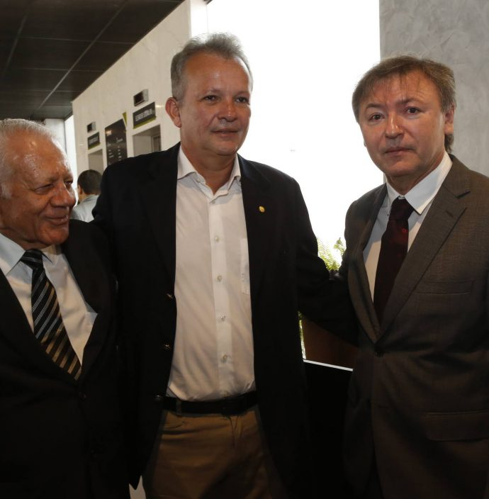 Flavio Saboya, Andre Figueiredo E Mauricio Filizola