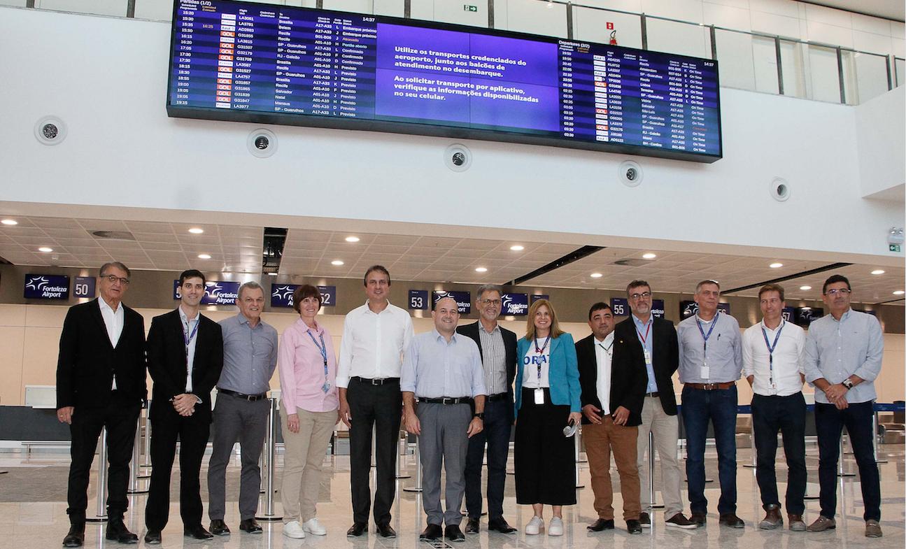Fraport Brasil será agraciada com o Troféu Habib Ary, da ABIH-CE