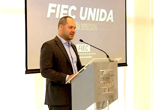 Heitor Freire destaca, na FIEC, a importância da propriedade intelectual para as PMEs