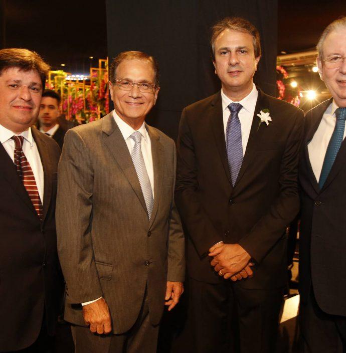George Lima, Beto Studart, Camilo Santana E Ricardo Cavalcante