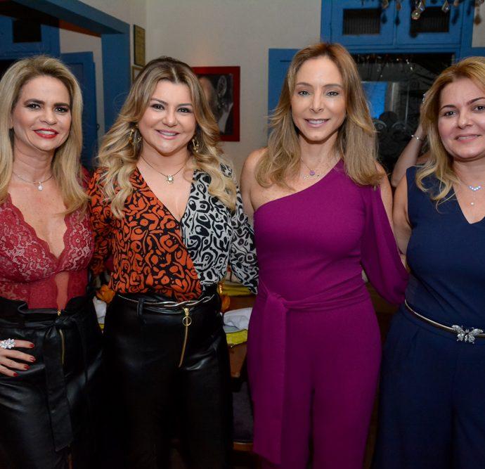 Germana Cavalcante, Silvana Guimarães, Ana Paula Daud E Denise Monteiro