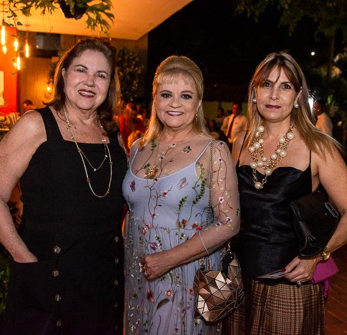 Germana Viana, Excelsa Costa Lima E Rossana Bertani