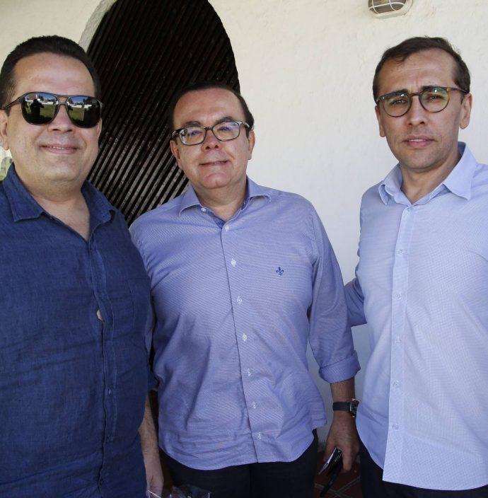 Germano, Alessandro e Delano Belchior - Foto: Portal IN