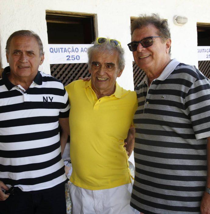 Geudo Machado, Lucio Brasileiro E Elias Bacha Neto