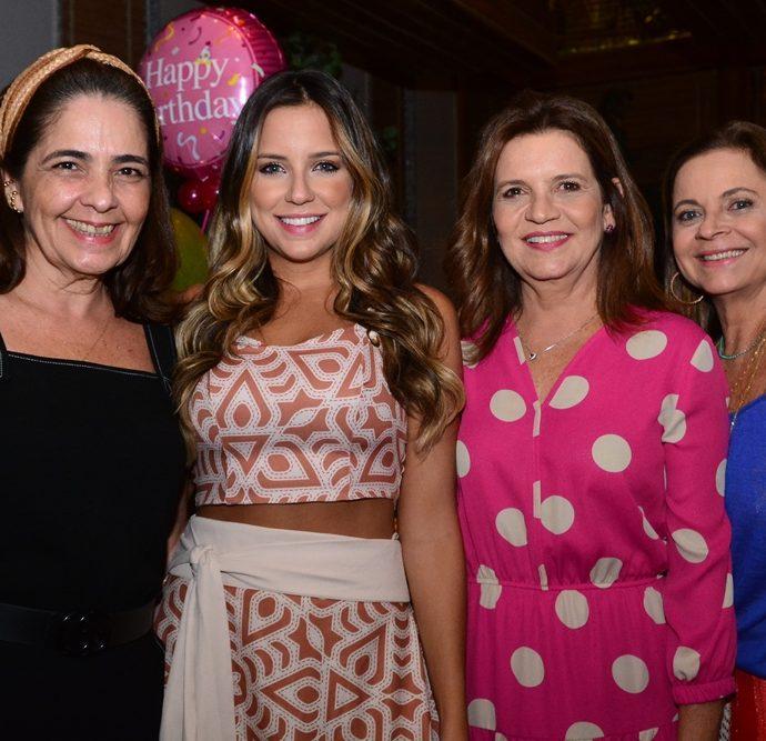Giana Studart, Fernanda Levy, Geni Correia Lima E Vera Passos
