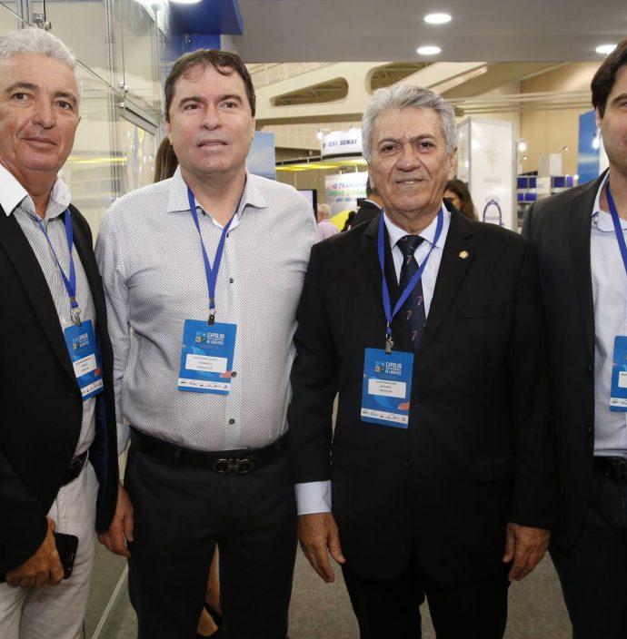 Giovanni Maranhao, Bertran Boris, Clovis Nogueira E Raphael Boris