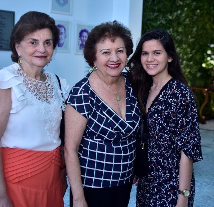 Glaura Aragão, Joselia Almeida, Maria Eduarda,