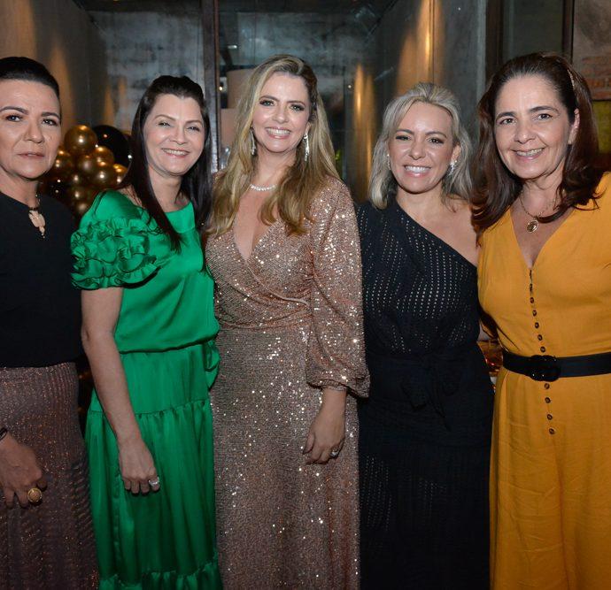 Guiomar Feitosa, Liliana Farias, Tais Pinto, Erika Queiroz E Giana Studart