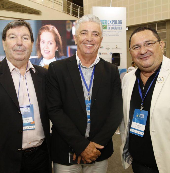 Heitor Studart, Giovanni Maranhao E Celio Fialho