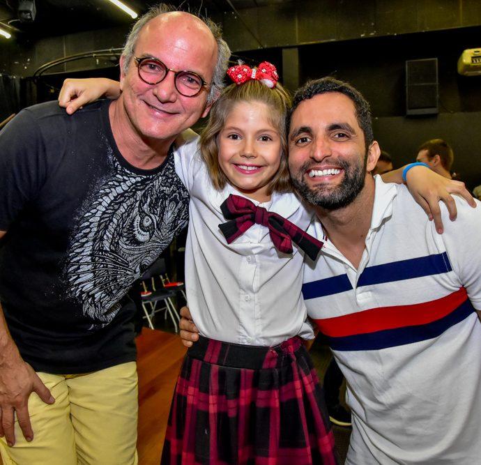 Hiroldo Serra, Mel Almeida E Aurelio Barros