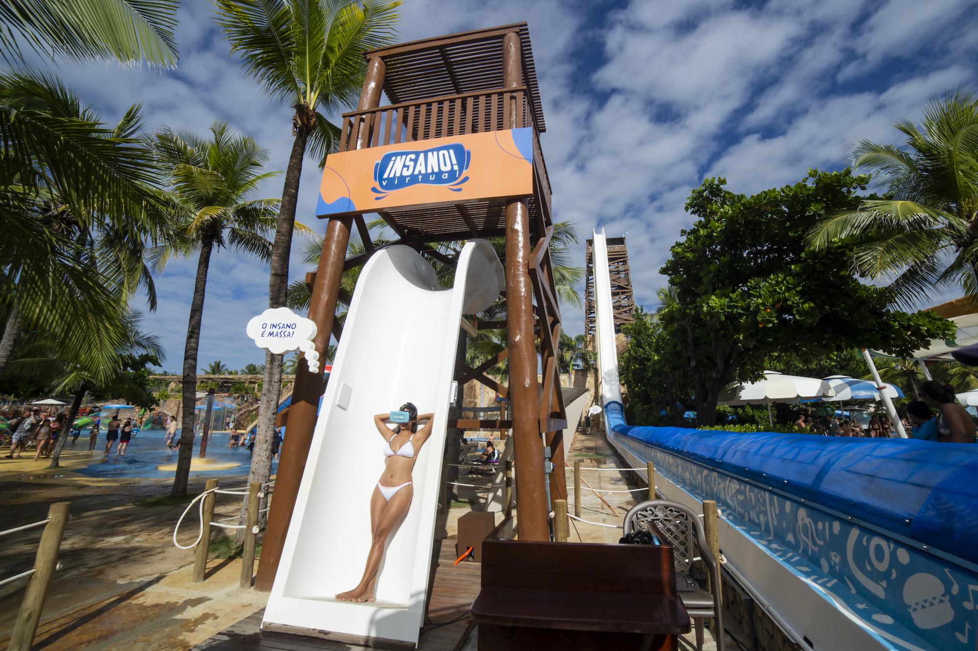 Atração de realidade virtual do Beach Park é premiada em Orlando