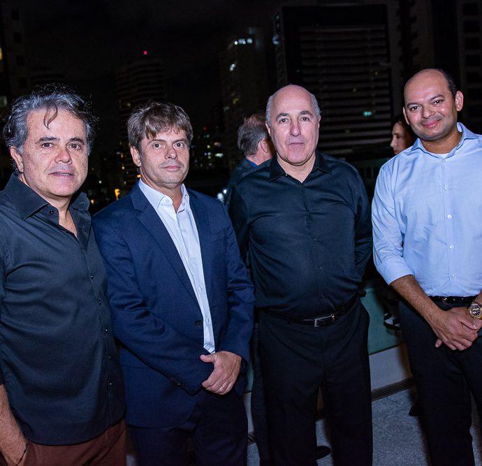 Ivan Bezerra, Pistalo, Silvio Frota E Otilio Ferreira
