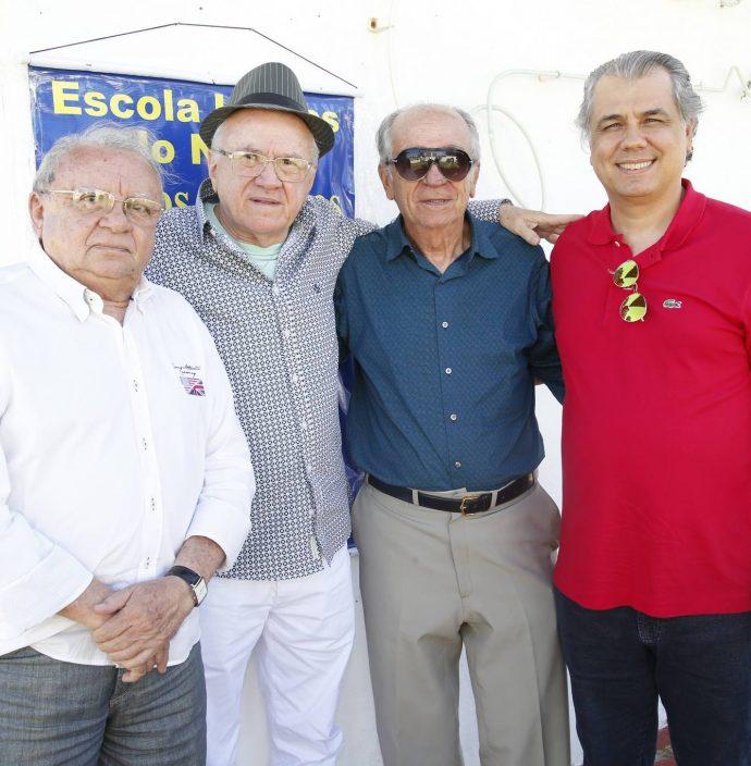 Ivan Limaverde, Zeze Camara, Joao Guimaraes E Magno Camara