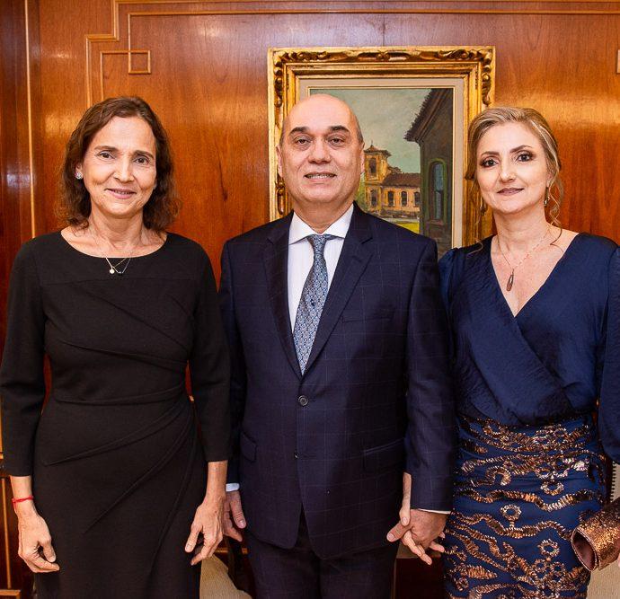 Izolda Cela, Luciano Lima E Valeria Lima