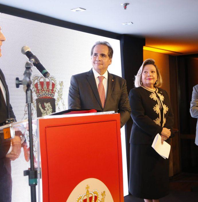 Jean Paul Charlier, Ricardo Bacelar, Fernanda Jensen E Patrick Herman 1