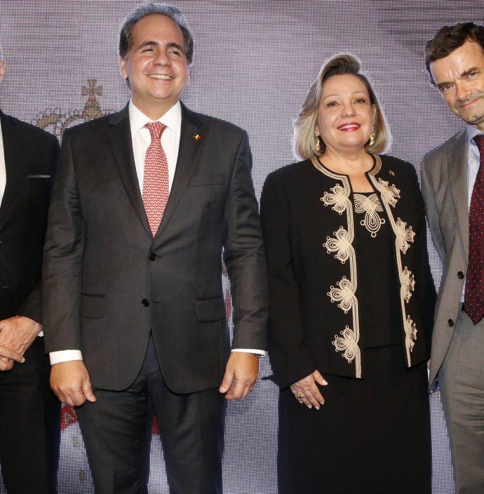 Jean Paul Charlier, Ricardo Bacelar, Fernanda Jensen E Patrick Herman 2