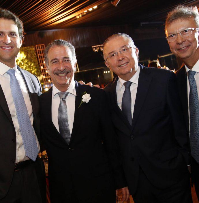 Joao E Emilio Ary, Antonio Jose Mello E Julio Militao