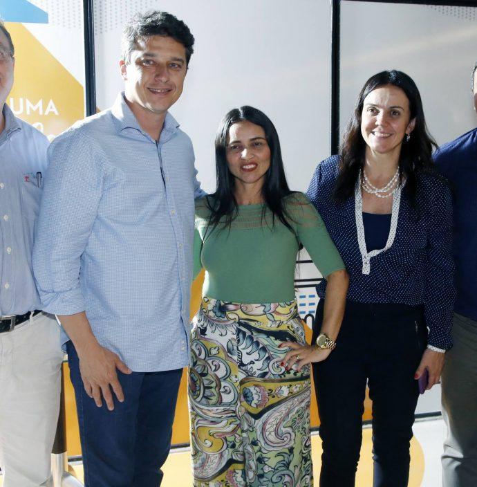 Joaquim Rolim, Andre Siqueira, Dana Nunes, Veridiana Soares E Paulo Andre Holanda