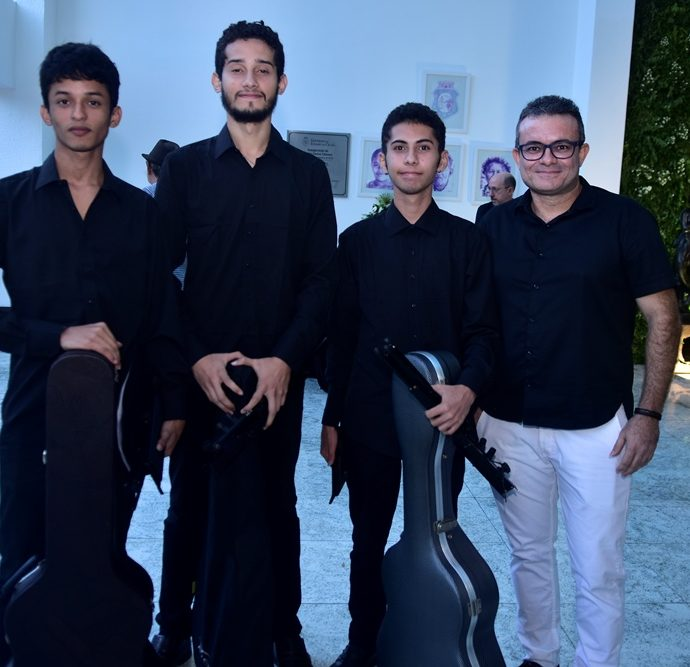 Joel Lisboa, Davi Gabriel, Caio Vitor, Edi Lincon