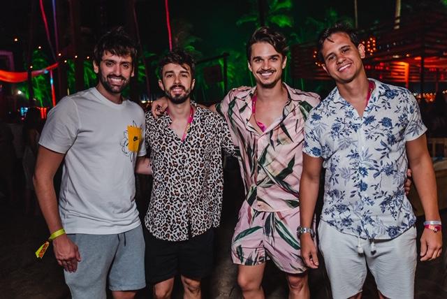 Jorginho Peixoto, Rafael Lobo, Vitinho Carvalheira E Ulysses Pernambucano Foto Lara Valença