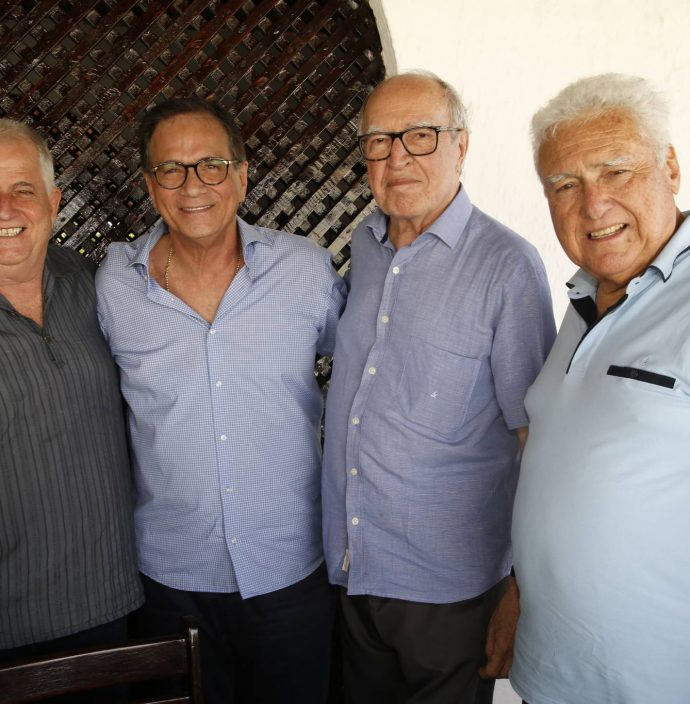 Jose Antunes, Beto Studart, Lucio Alcantara E Waldyr Diogo