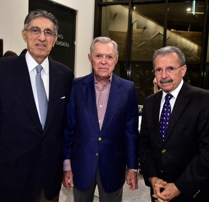 José Hissa, José Hugo, Egidio Serpa