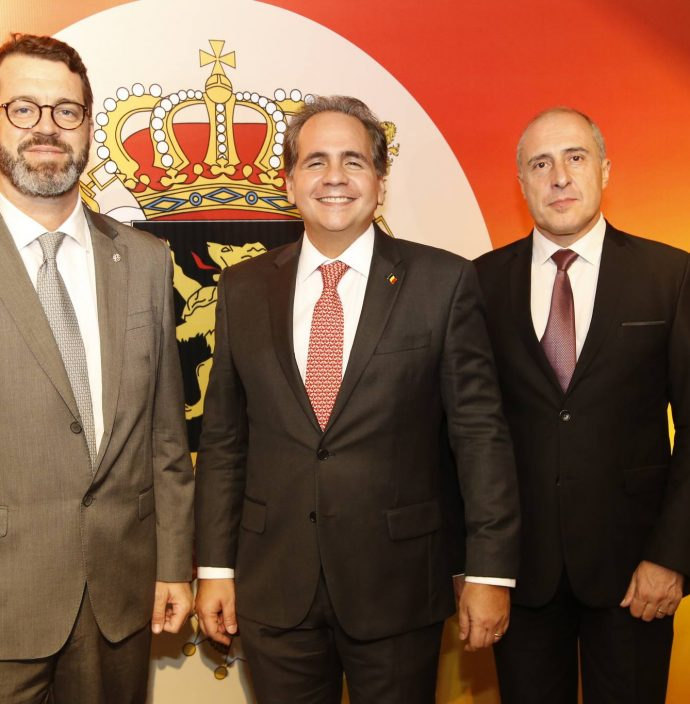 Jose Maria Zenock, Ricardo Bacelar E Jean Paul Charlier