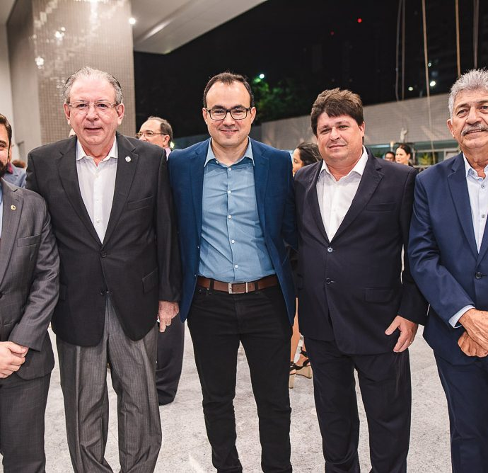 Julio Cesar, Ricardo Cavalcante, Carlos Alberto, George Lima E Lelio Matias