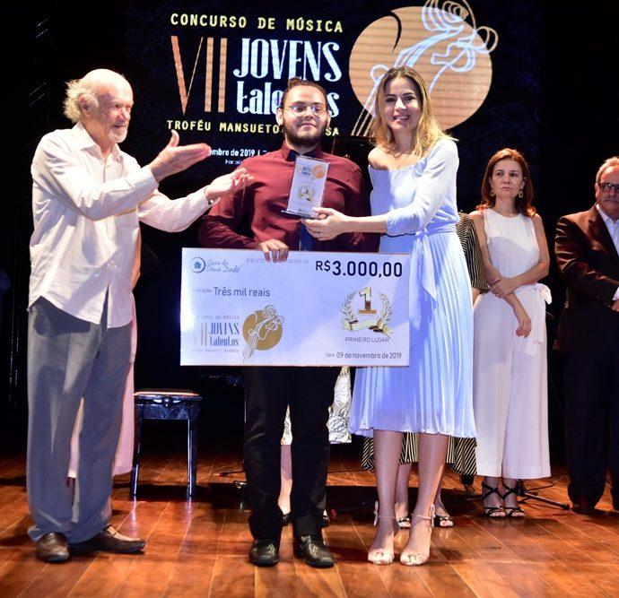 Júlio Medalha, Alisson Da Silva, Onélia Leite Santana
