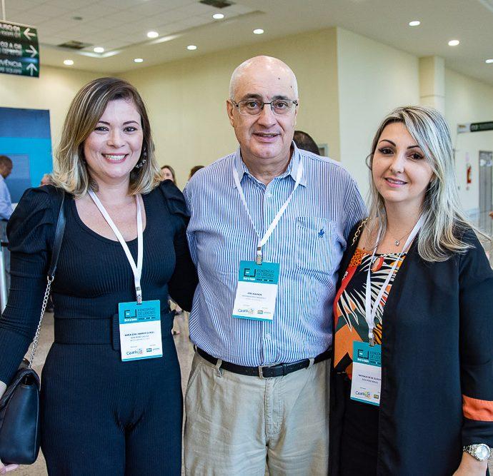Karla Barros, Jose Wahnon E Nathalia De Sa
