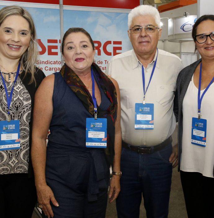 Keila Silva, Maria Do Socorro Mesquita, Francisco Jose Girao E Yara Alice