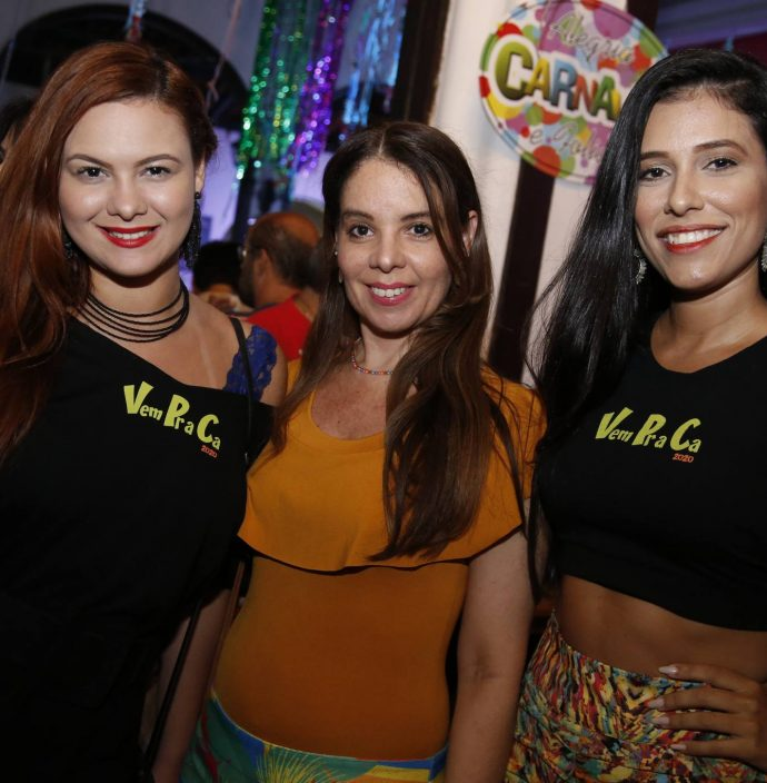 Kirla Erika, Karine Aires E Angelica Farias