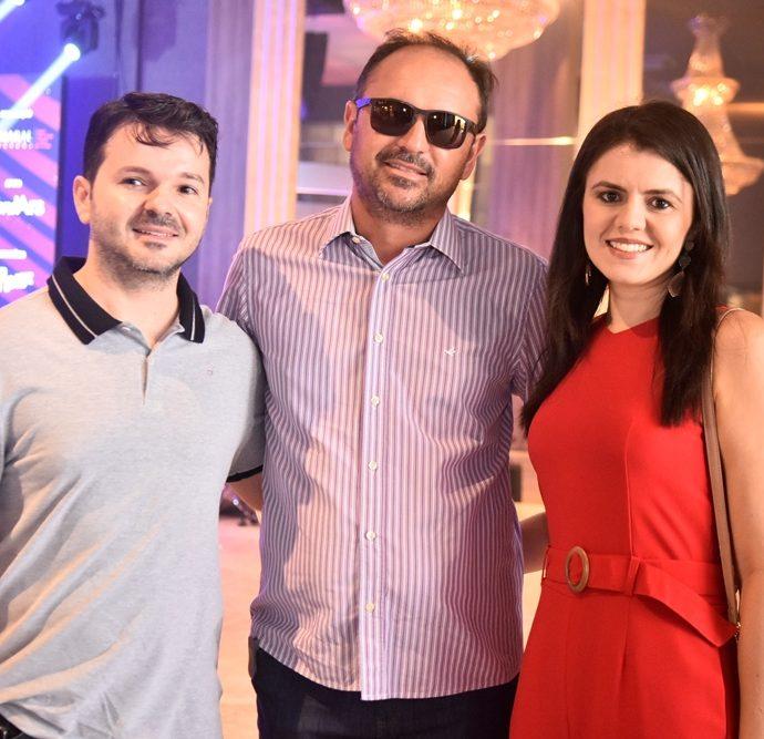 Lazaro Luiz, Fernando Cabral E Heloisa Bezerra