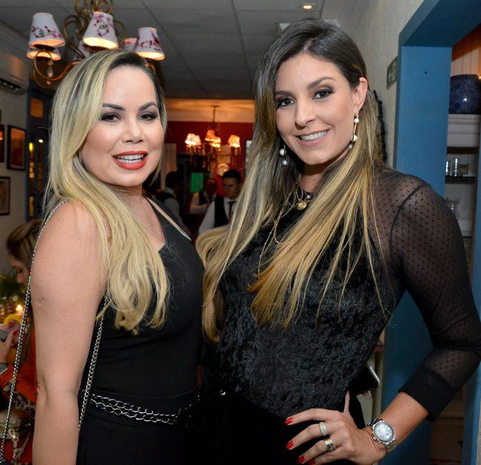 Lea Lopes E Erica Gurgel