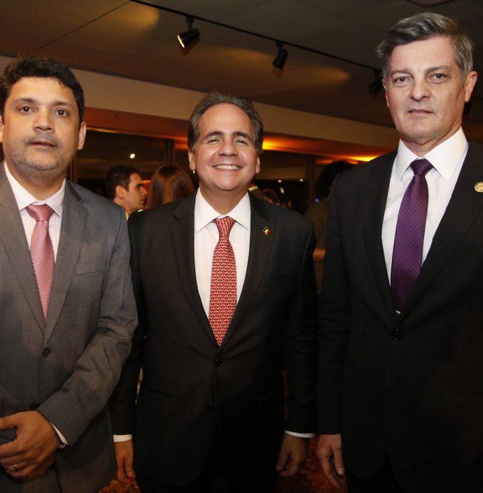 Leonardo Carvalho, Ricardo Bacelar E Cid Marconi