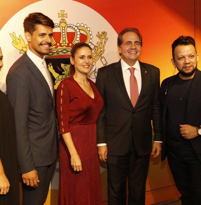 Leticia Soares, Alex Ramos, Manoela E Ricardo Bacelar E Roberto Alves