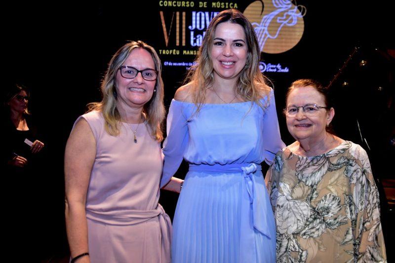 Liana Barbosa, Onélia Leite Santana, Regina Barbosa