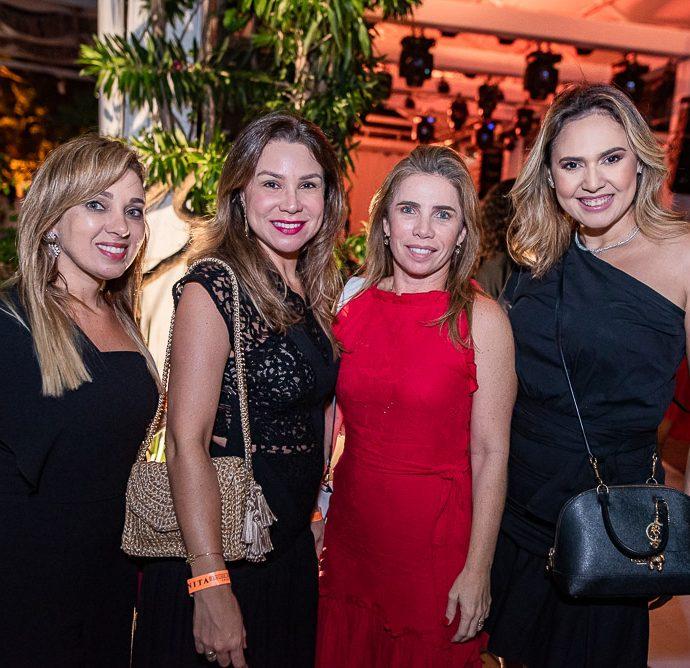 Licia Vasconcelos, Ingrid Feitosa, Suemi Vasconcelos E Melica Gomes