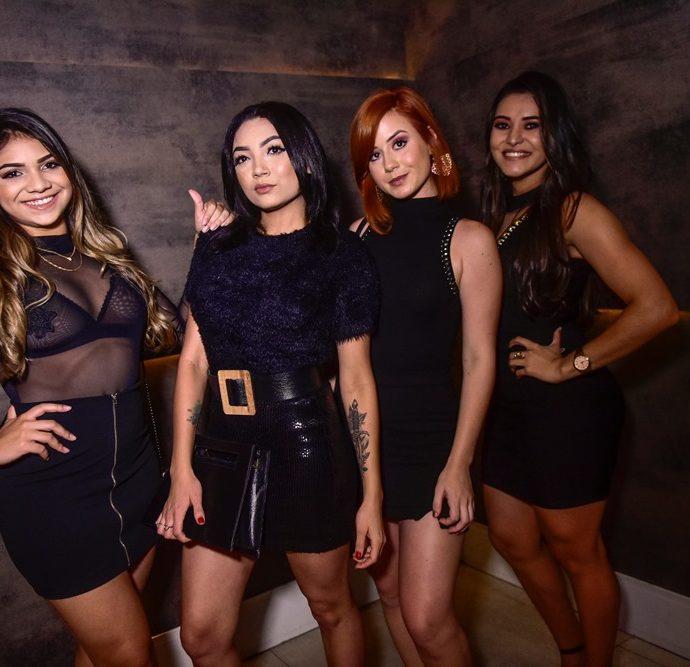Luana Sousa, Arlene Xavier, Mariana Muniz, Keuciane Carvalho