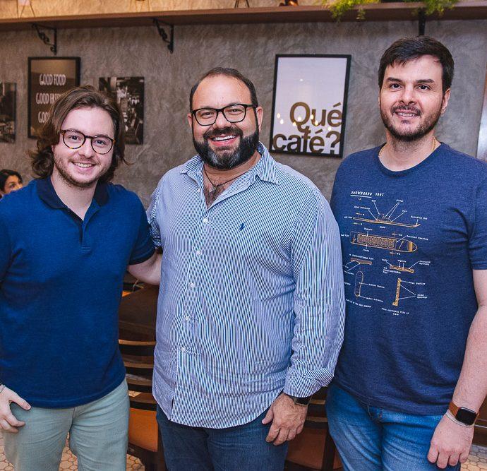 Lucas Freitas, Victor Costa E Marcus Aguiar