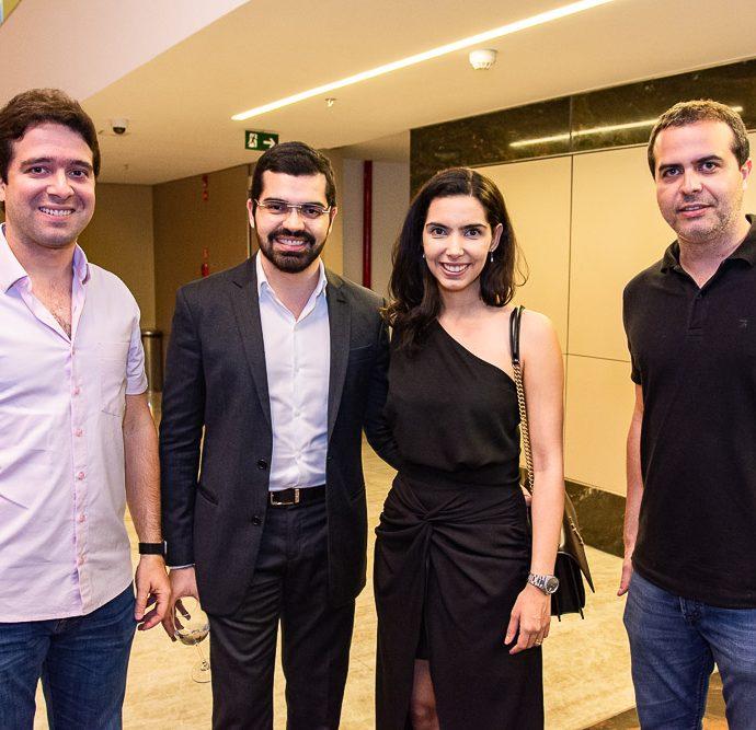 Lucas Pontes, Pedro Garcia, Carla Garcia E Felipe Coelho