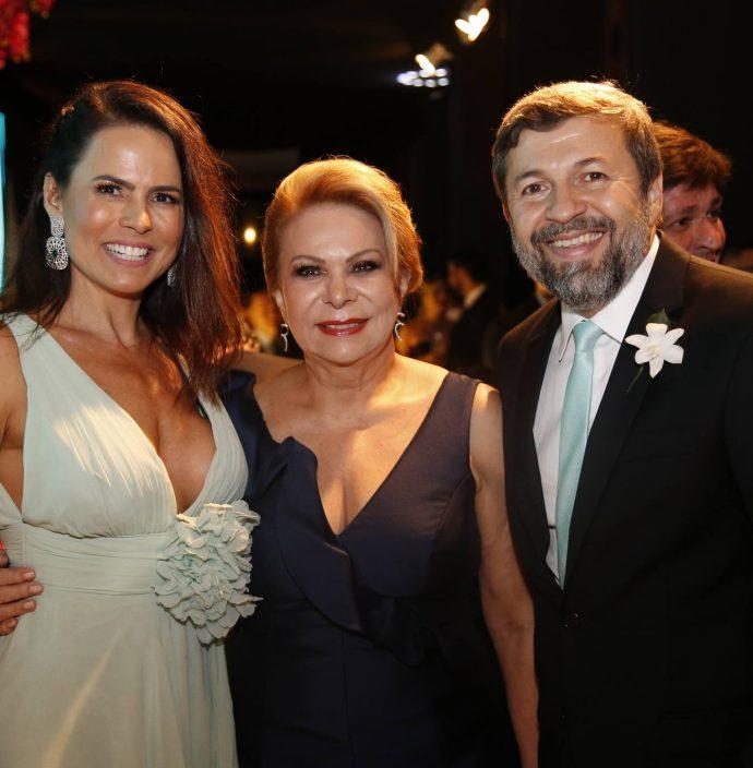 Luciana Sousa, Iracema Do Vale E Elcio Batista