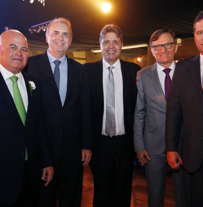 Luciano Cavalcante, Joao Cateb, Marcos Oliveira, Helio Perdigao E Marcos Medeiros