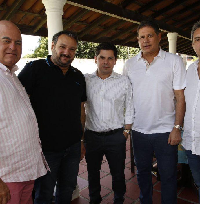 Luciano Cavalcante, Patriolino Dias, Pompeu Vasconcelos, Marcos Medeiros E Jose Guedes Neto