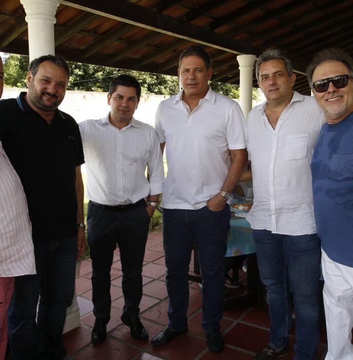 Luciano Cavalcante, Patriolino Dias, Pompeu Vasconcelos, Marcos Medeiros, Jose Guedes Neto E Jose Carlos Pontes