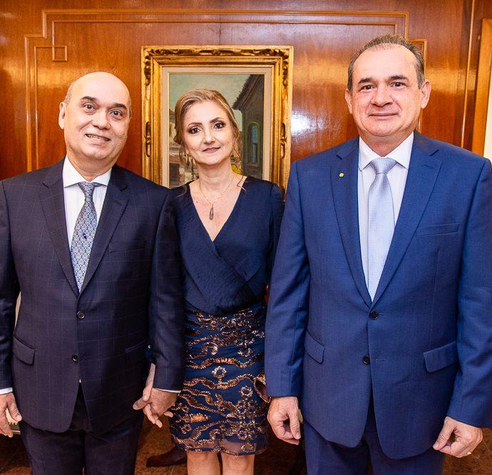 Luciano Lima, Valeria Lima E Washington Araujo