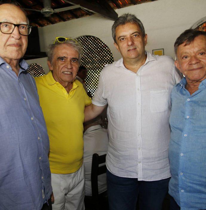 Lucio Alcantara, Lucio Brasileiro, Jose Guedes Neto E Edilmo Cunha
