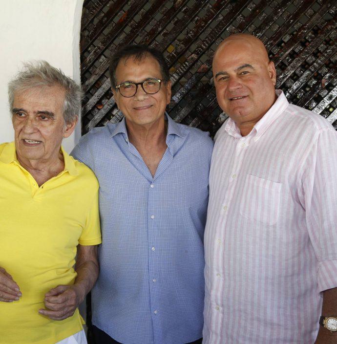 Lucio Brasileiro, Beto Studart E Luciano Cavalcante